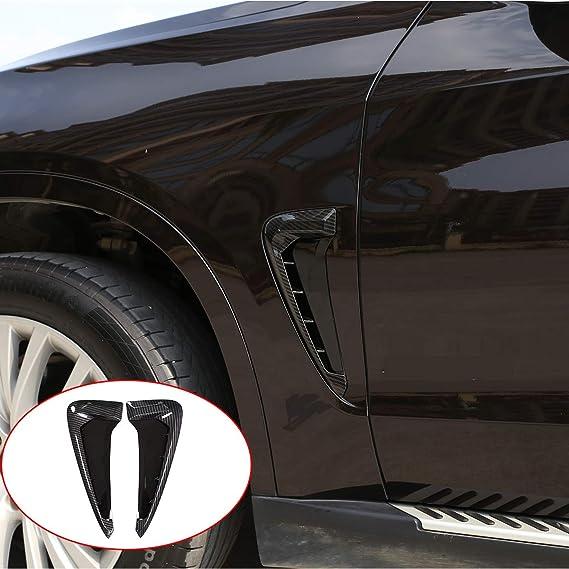 Amazon.com: YUECHI Car Styling for BMW Xdrive Emblem X5 F15 X5M F85 2014 2015 2016 2017 2018 Shark Gills Side Fender Vent Mesh Decoration 3D Stickers Grille Auto Exterior Accessories (Carbon Fiber): Automotive