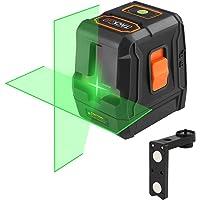 Niveau Laser Croix Vert 20m, Tacklife SC-L07G Classique/Auto-nivellement/Laser Brillant Horizontal et Verticale à 110°/ Verrouillable/Support Magnétique Rectangulaire