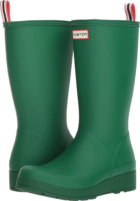 Hunter Women's Original Play Boot Tall Rain Boots Hyper Green 6 M US best women's rainboots