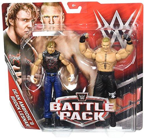 WWE Dean Ambrose & Brock Lesnar Action Seried 43 B Figures, 2 Pack by WWE
