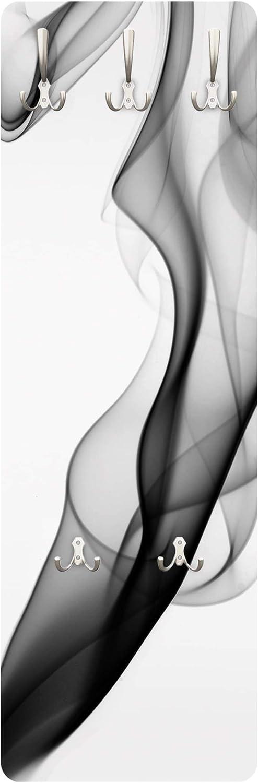 Perchero de Pared Perchero Ganchos /Gris Nebulosa 139/x 46/x 2/cm Perchero de pie Habitaciones Perchero de Pared Perchero Perchero de/ Perchero de Pared