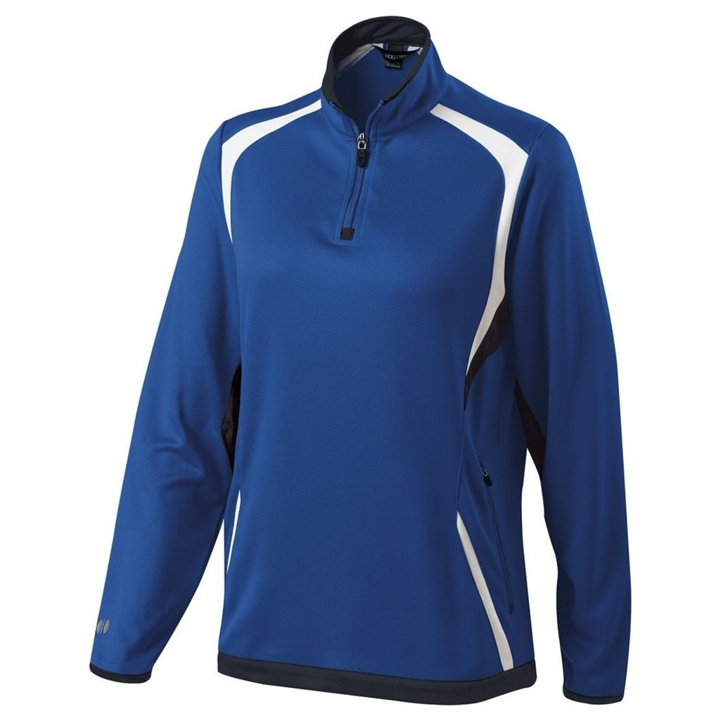 Holloway Ladies Dry Excel Transform Pullover (X-Large, Royal/Black/White) by Holloway