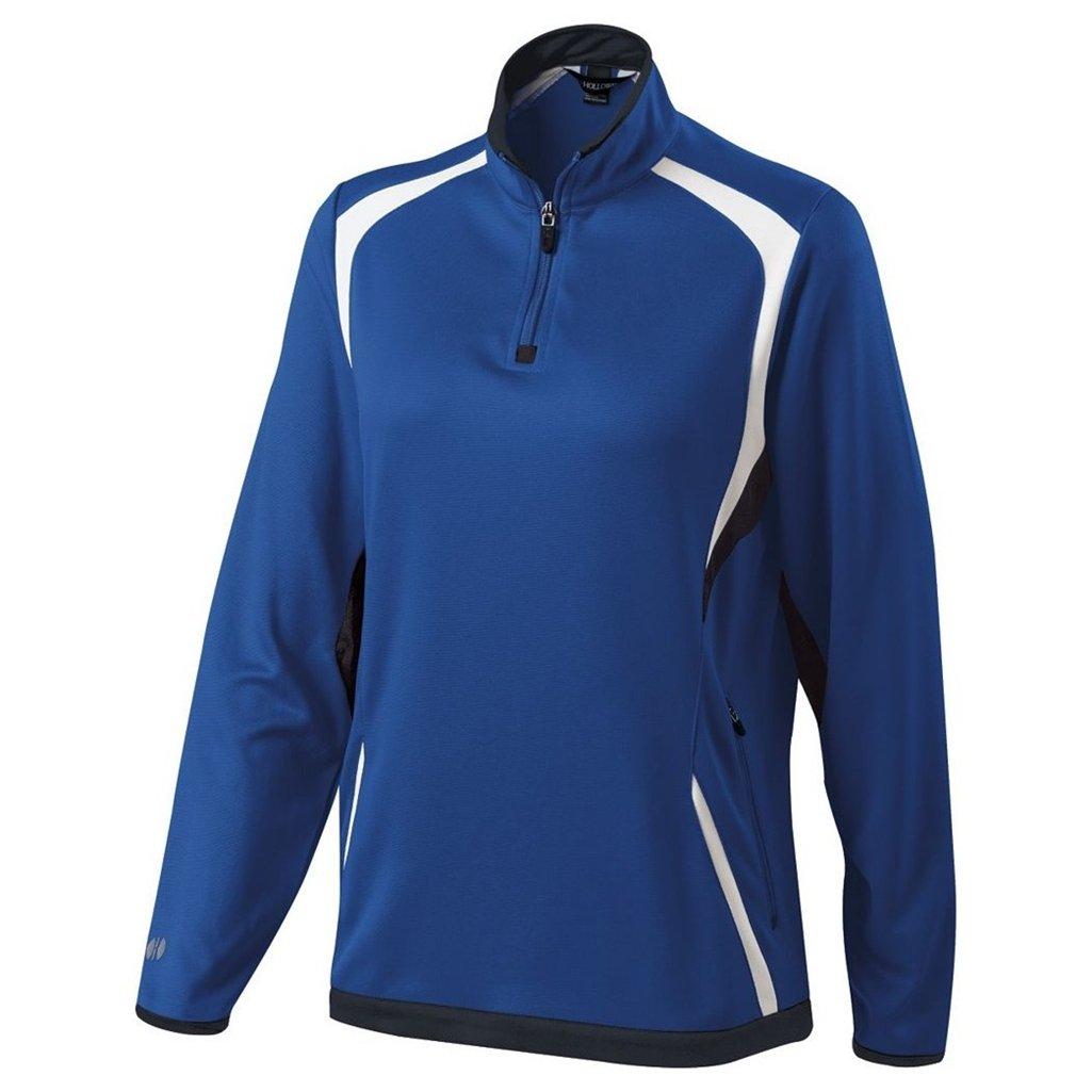 Holloway Ladies Dry Excel Transform Pullover (Medium, Royal/Black/White) by Holloway