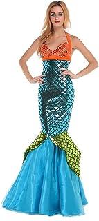Eternatastic Women Halloween Wet Look Mermaid Costume Adult  sc 1 st  Amazon.com & Amazon.com: InCharacter Costumes Womenu0027s Mermaid Costume: Clothing