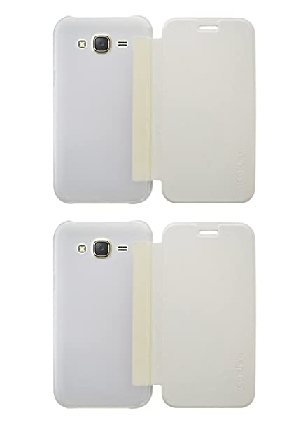 the latest 713b8 96e94 COVERNEW 2 Flip Cover for Samsung Galaxy Grand 2: Amazon.in: Electronics