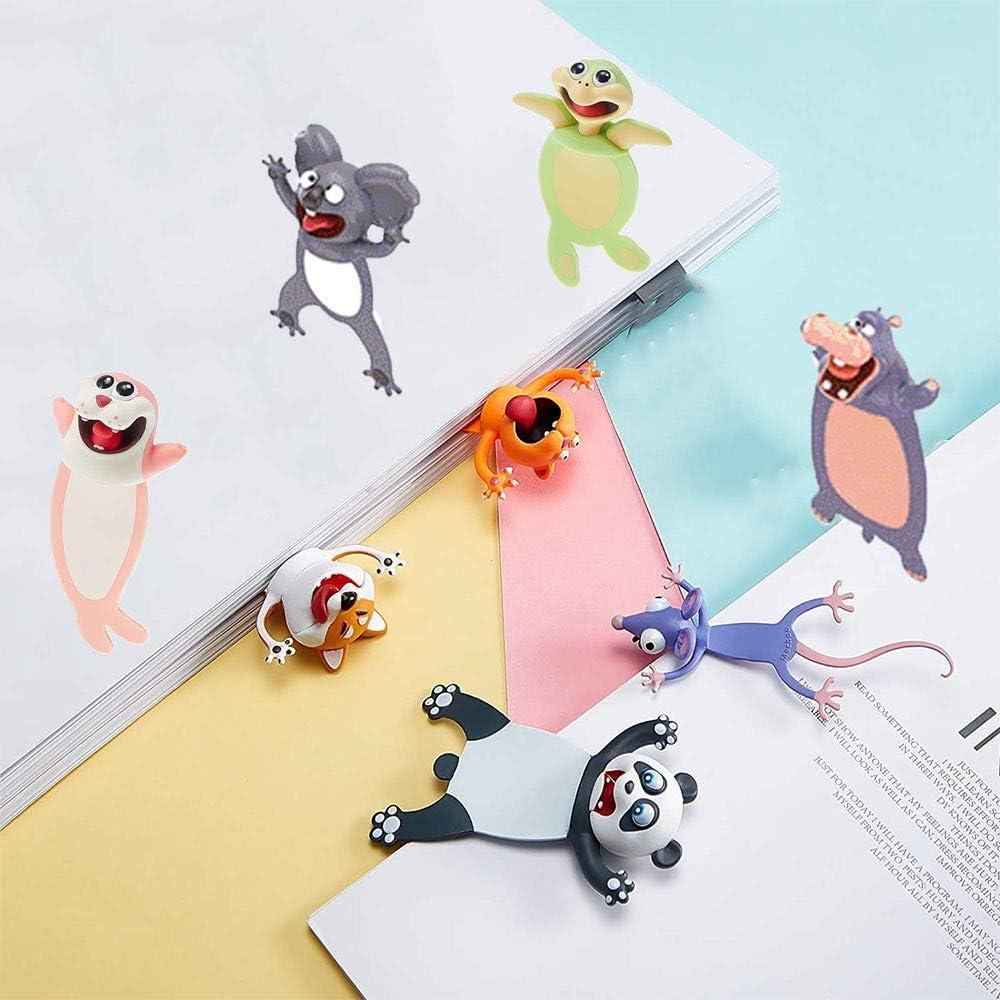 Anyingkai Marcap/áginas de Animales,Marcadores de Animales Interesantes 3d,Marcap/áginas de Dibujos Animados de 3d,Marcap/áginas 3d,Marcadores de Libros,Marcadores de Animales Coala