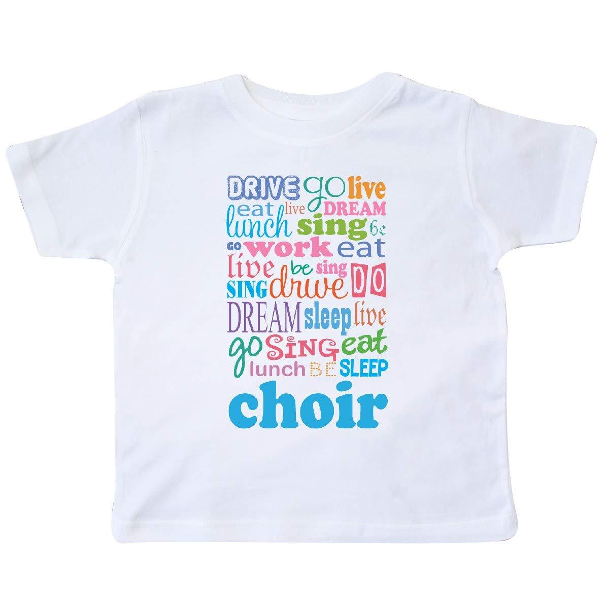 inktastic Choir Director Singer Vocal Music Toddler T-Shirt