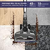 MOOSOO M Vacuum Cleaner 2 in 1 Cordless Stick Vacuum with Strong Suction Bagless for Home Car Pet - XL-618A