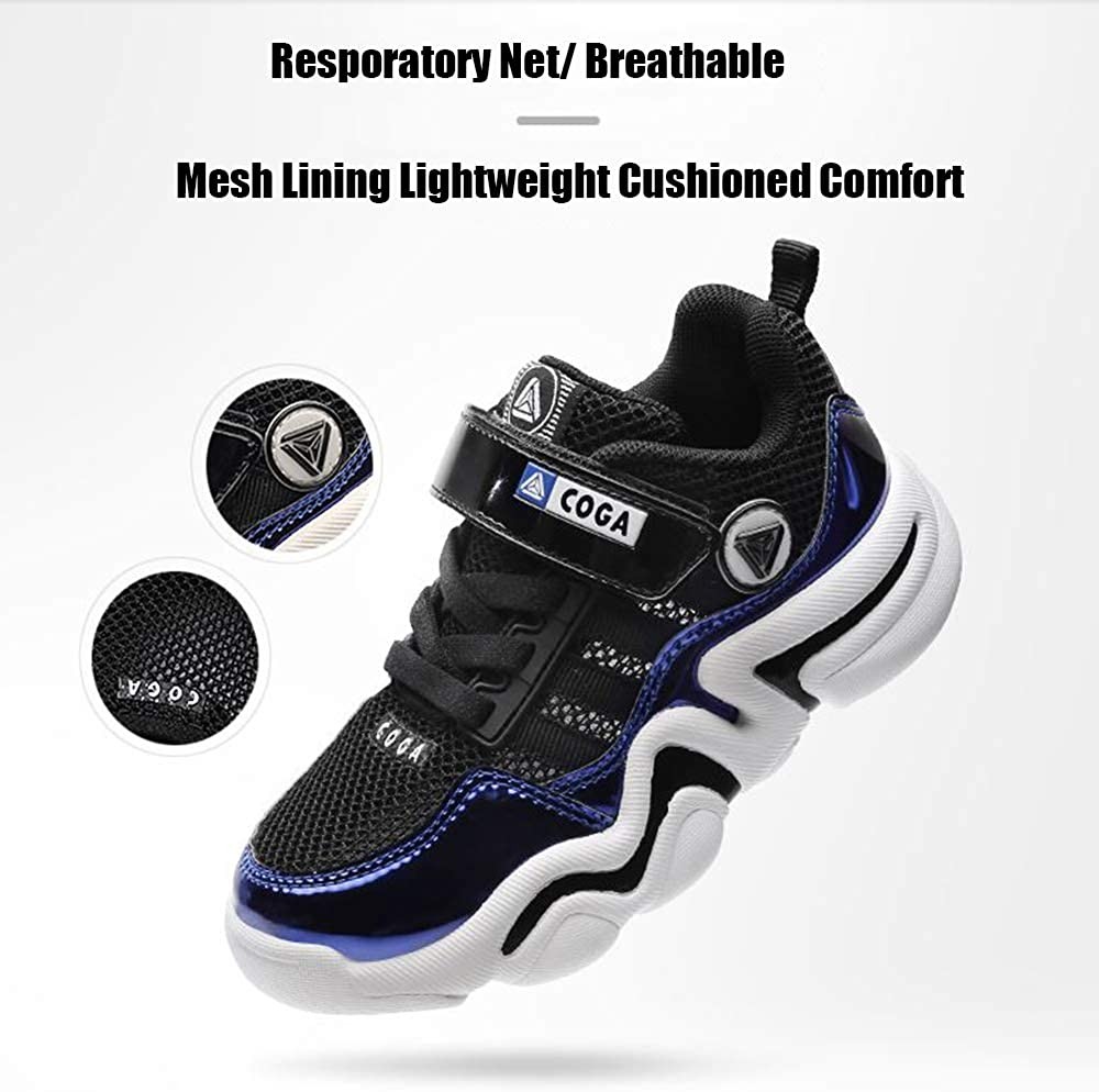 Kailuoze Webbing Sneakers Lightweight Breathable Strap Athletic Running Sport Jogging Shoes for Boys Girls Toddler//Little Kid//Big Kid