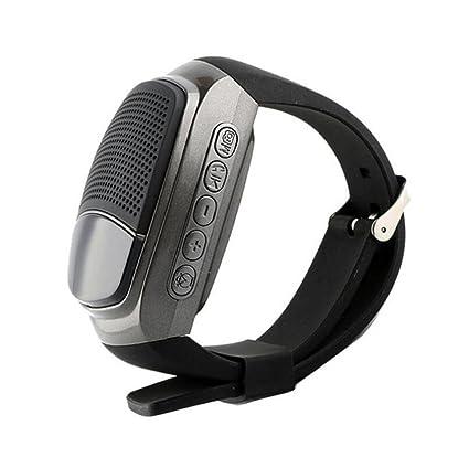 Wireless Bluetooth Altavoces Relojes Bluetooth Audio Tarjeta portátil Motion Bluetooth Audio Autodisparador FM Smart Bluetooth,