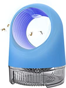 GAKUS 2020 Fruit Fly Trap Bug Zapper Inhaler,Mosquito Killer Indoor Insect Trap,USB Power Supply,LED Light UV Inhaler Trap Lamp, Mosquito Lamp Suitable for Indoor Residential,Office,Non-Toxic