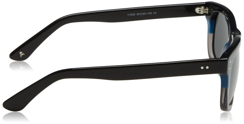 Scalpers Tricolor Sunglasses:Blue Gafas, Blue, UNICA para ...