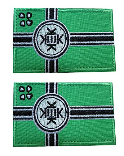 Discover Bargain 2 PCS - Kek Flag Kekistan Embroidered Velcro Patch - Kek Republic Flag Embroidered ...