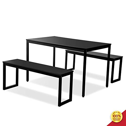 ALI VIRGO 3 Piece Modern Soho Dining Set Kitchen Table