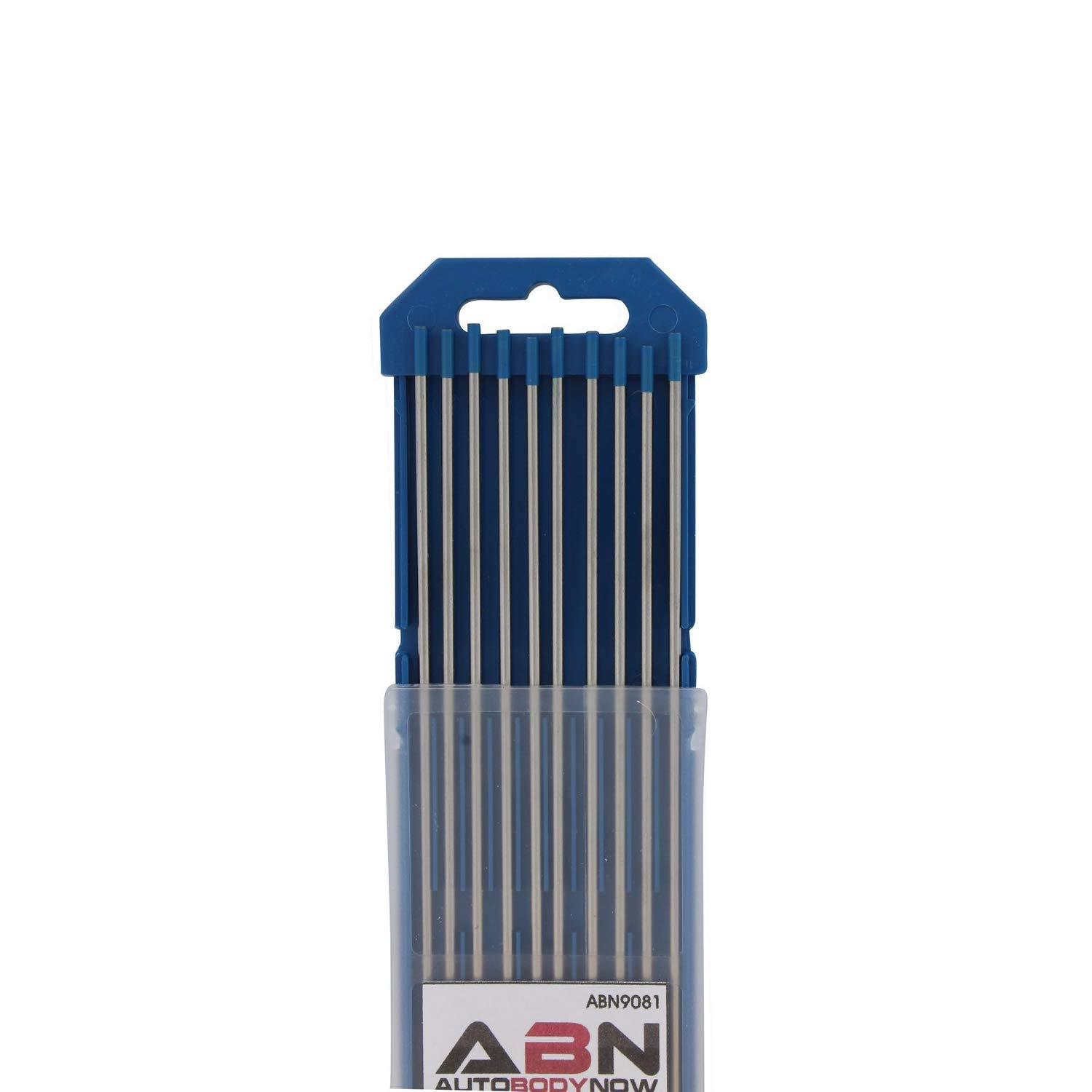 ABN 9081 Tungsten Welding Electrodes Pack of 10 Auto Body Now 2/% Wl20 Lanthanide Tig Mig Arc Ac Dc Blue