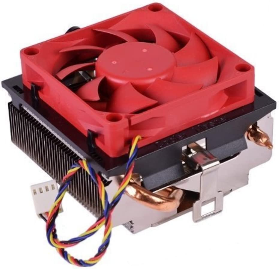 AMD Socket AM3+//AM3//AM2+//AM2//FM1//1207//939//940//754 Copper Base//Aluminum Heat Sink /& 2.75 Fan w//Copper Heatpipes /& 4-Pin NA
