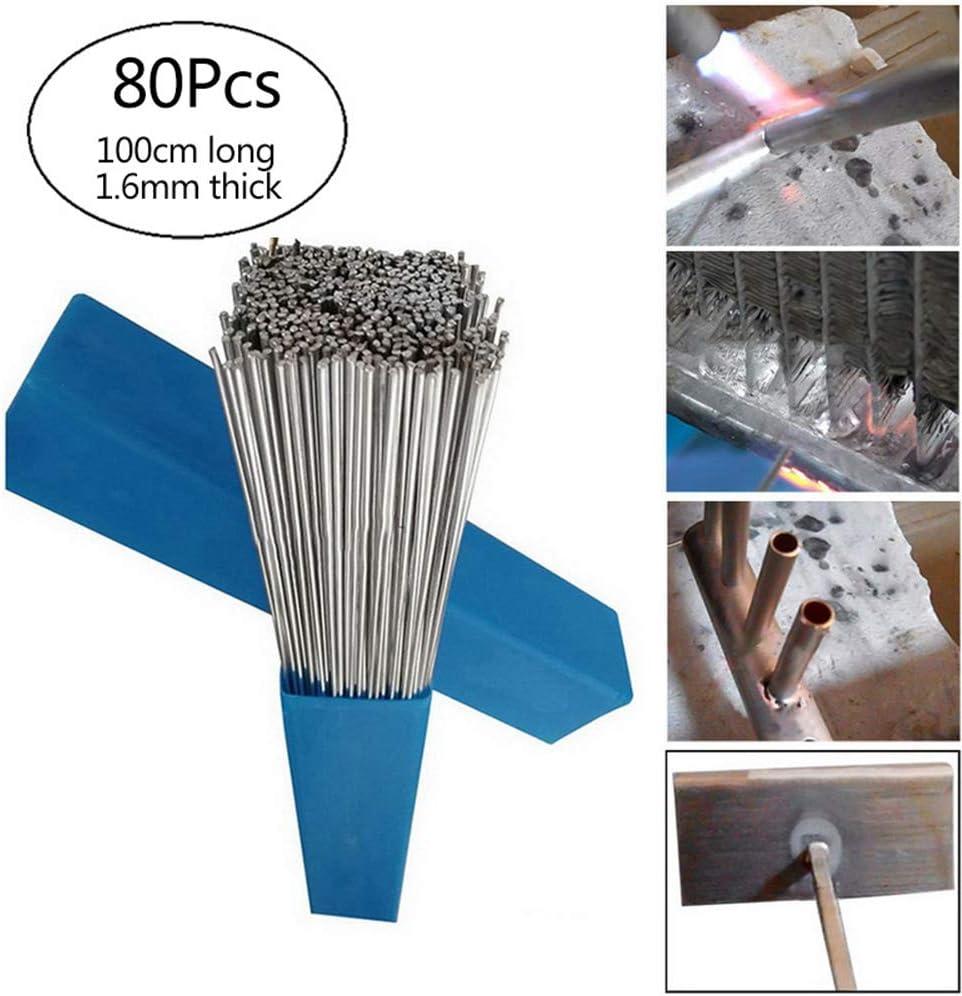 L/ötpulver unn/ötig RainBabee Aluminiumlot Aluminiumelektrode F/ülldraht L/ötkolben Niedrigtemperatur Schwei/ßdraht Flussmittelgef/üllter L/ötkolben Aluminiuml/ötkolben 10//20//30//50 STK