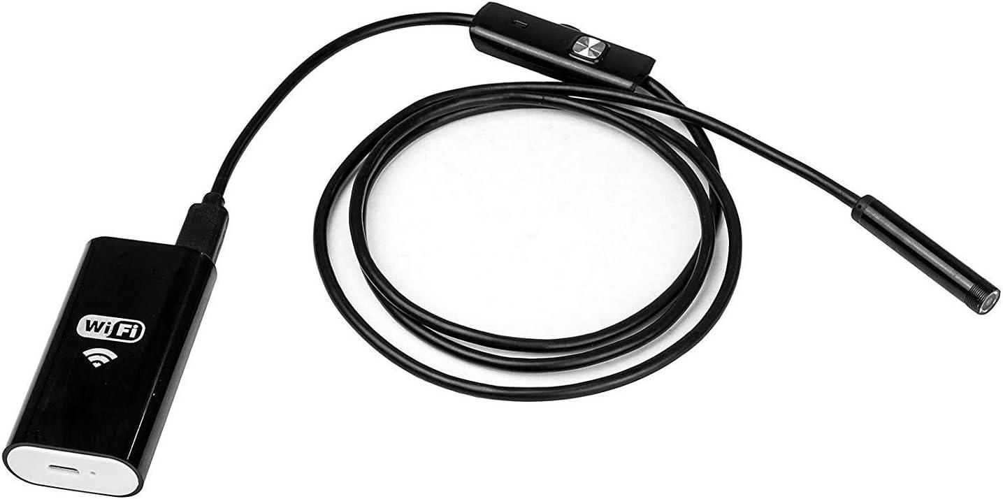 IP67 8 mm 5 m Schwarz 6 LEDs wasserdicht SUNWAN Endoskop-Kamera f/ür iPhone Android Endoskop Endoskop USB-Endoskop Schlange Inspektionskamera