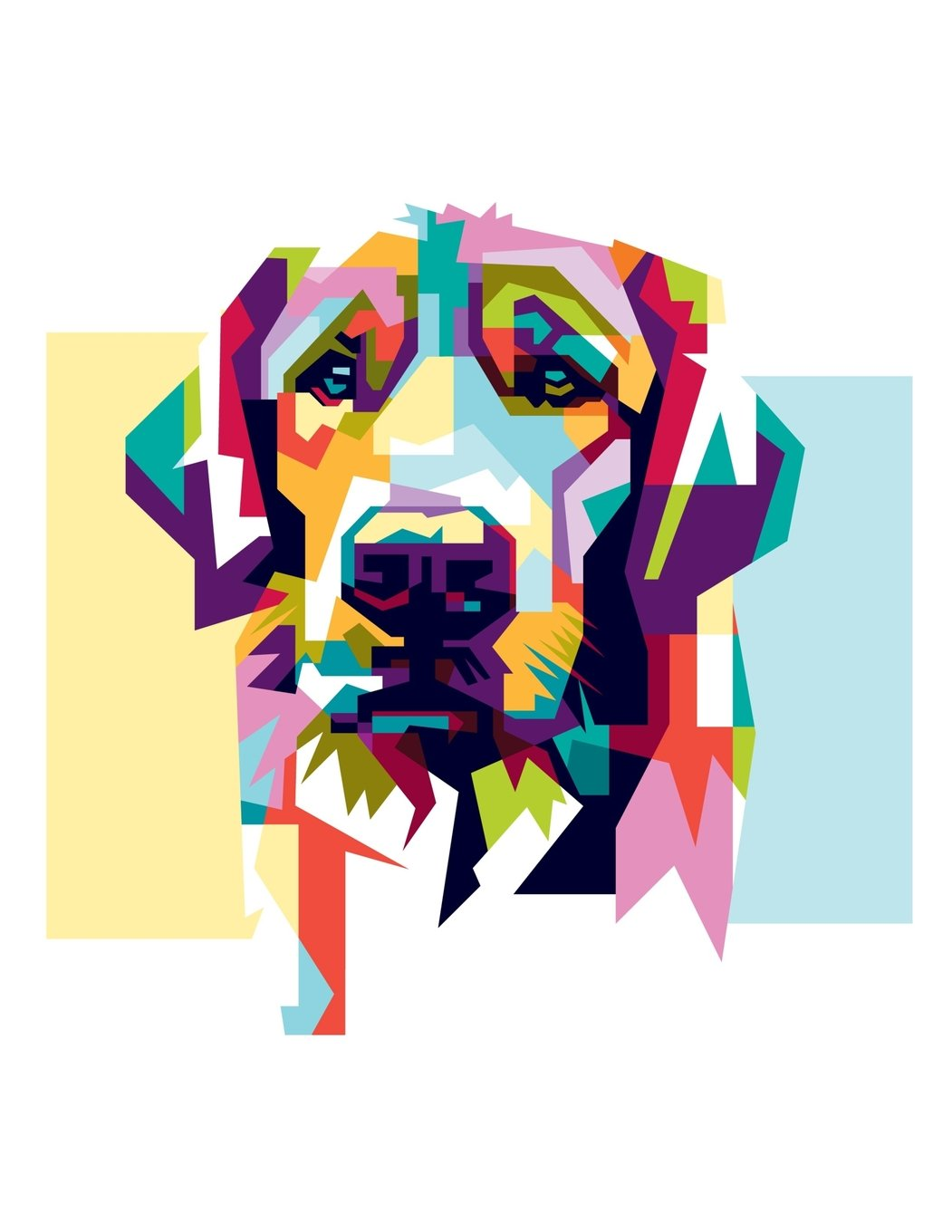 Notebook: Multicolored Dog, Composition Notebook For Girls, Large Size - Letter, Wide Ruled (Notebooks For Teens) pdf epub