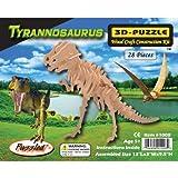 """Puzzled T-Rex 3D Jigsaw Puzzle (28-Piece), 13 x 3 x 9.5"""""""