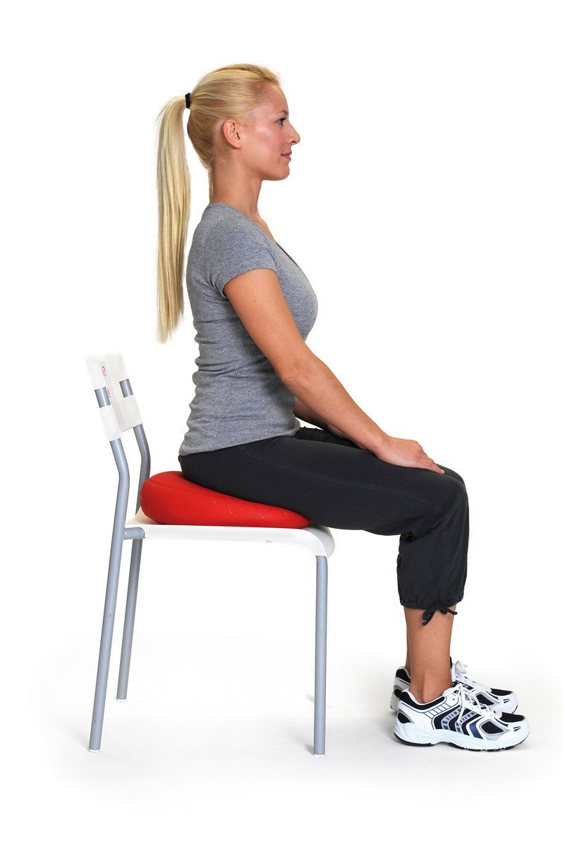 SISSEL Sitfit Dynamic Sitting Posture and Core Workout posture corrector (black, 33cm) by Sissel (Image #6)