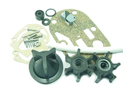 e33adaeb1538 Jabsco 29101-0000 Service Kit, Seals and Gaskets for Electric Toilet  Conversion