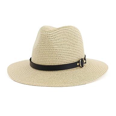 Only Damen Strohhut Panama Hut Sonnenhut Sonnenschutz Damenhut Sommer Strand