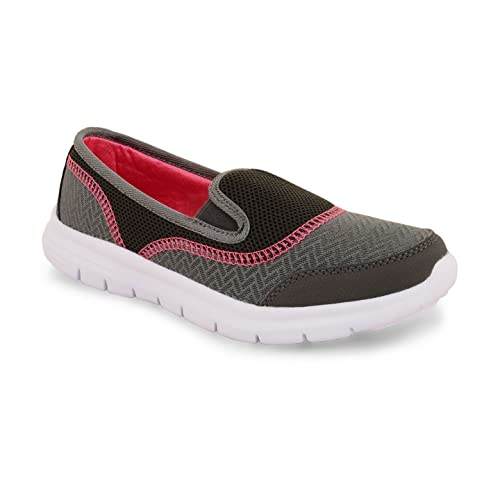 Footwear Sensation - Zapatillas para mujer Gris gris oscuro: Amazon.es: Zapatos y complementos