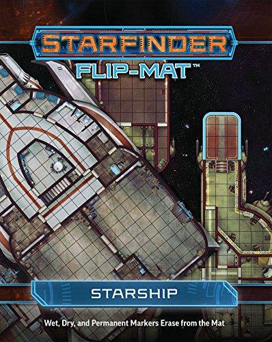 Flip Stars - Starfinder Flip-Mat: Starship