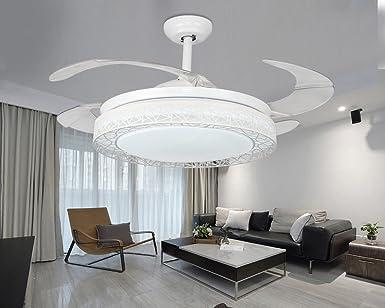 Ventilador de techo invisible lámpara Lámpara ventilador, sala de ...