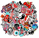 Laptop Stickers 100 PCS, Car Bumper Stickers,Motorcycle Bicycle Luggage Decal Graffiti Patches Skateboard Stickers, Supercool Stickers for Adults