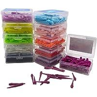 LIOOBO 80 Puntos de Dardos de plástico Puntas