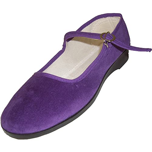Zapatos morados formales MIK funshopping para mujer DkfIzMXq