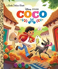 A beautifully illustrated Little Golden Book based on Disney/Pixar's Coco, coming to theaters November 22, 2017!   Despite his family's baffling generations-old ban on music, Miguel (voice of newcomer Anthony Gonzalez) dreams of becoming an a...
