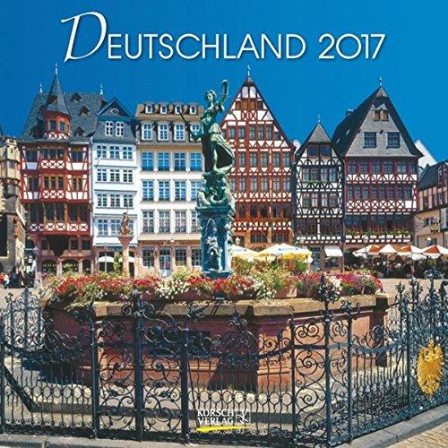 Deutschland 2017: Broschürenkalender mit Ferienterminen