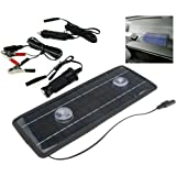 New 12V 4.5W Solar Trickle Panel Power Portable Battery Charger Car Boat