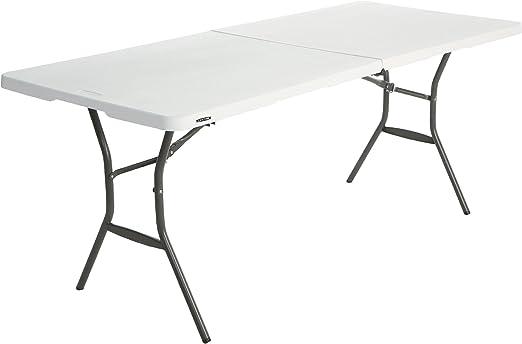 Lifetime - Mesa Plegable Multifuncional, 183x76x74 cm, Blanco, LFT ...