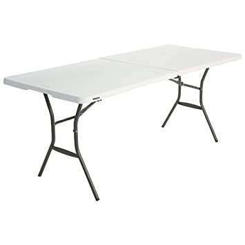 Lifetime 6 Foot (1.83 M) Essential Fold In Half Table