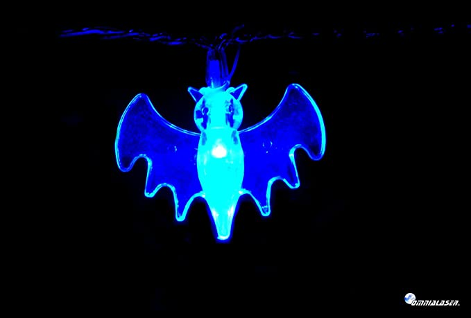 Cadena lumninosa luces LED OmniaLaser (marca italiana) a pilas para uso interno y con