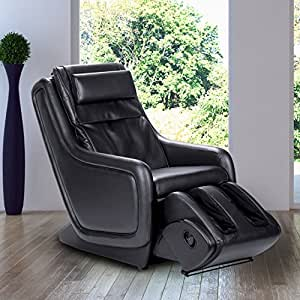 "Human Touch ZeroG 4.0"" Full Body Massage Chair with Zero-Gravity 3D Massage Technology, Black with 3 Year Satisfaction Guarantee Premium Warranty Package"