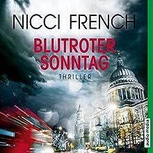 Blutroter Sonntag (Frieda Klein 7) Hörbuch von Nicci French Gesprochen von: Nicole Engeln