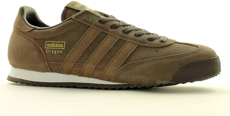 Adidas Mens Dragon BA7672 Trainer – Brown – Size UK 3.5 : Amazon ...