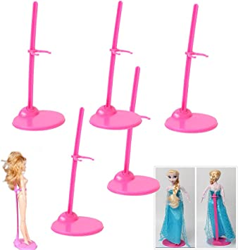 5pcs Doll Toy Stand Support Prop Up Mannequin Model Holder For Barbie ACCES