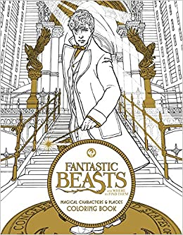 Fantastic Beasts And Where To Find Them Magical Characters Places Coloring Book HarperCollins Publishers 9780062571359 Amazon Books
