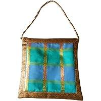 Nidhi Creation Designer Ethnic Handbag for Women | Shoulder Bag for Women | Best Gift | Clutch Bag Purse For Bridal, Casual, Party, Wedding