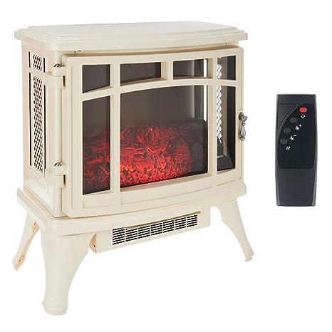 Superb Duraflame Infrared Quartz Stove Heater With Flame Effect Cream Dfs 8511 Interior Design Ideas Gentotryabchikinfo