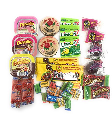 Best Sellers Mexican Candy Assortment Box Gift Set (Includes Popular  Choices from Vero, De La