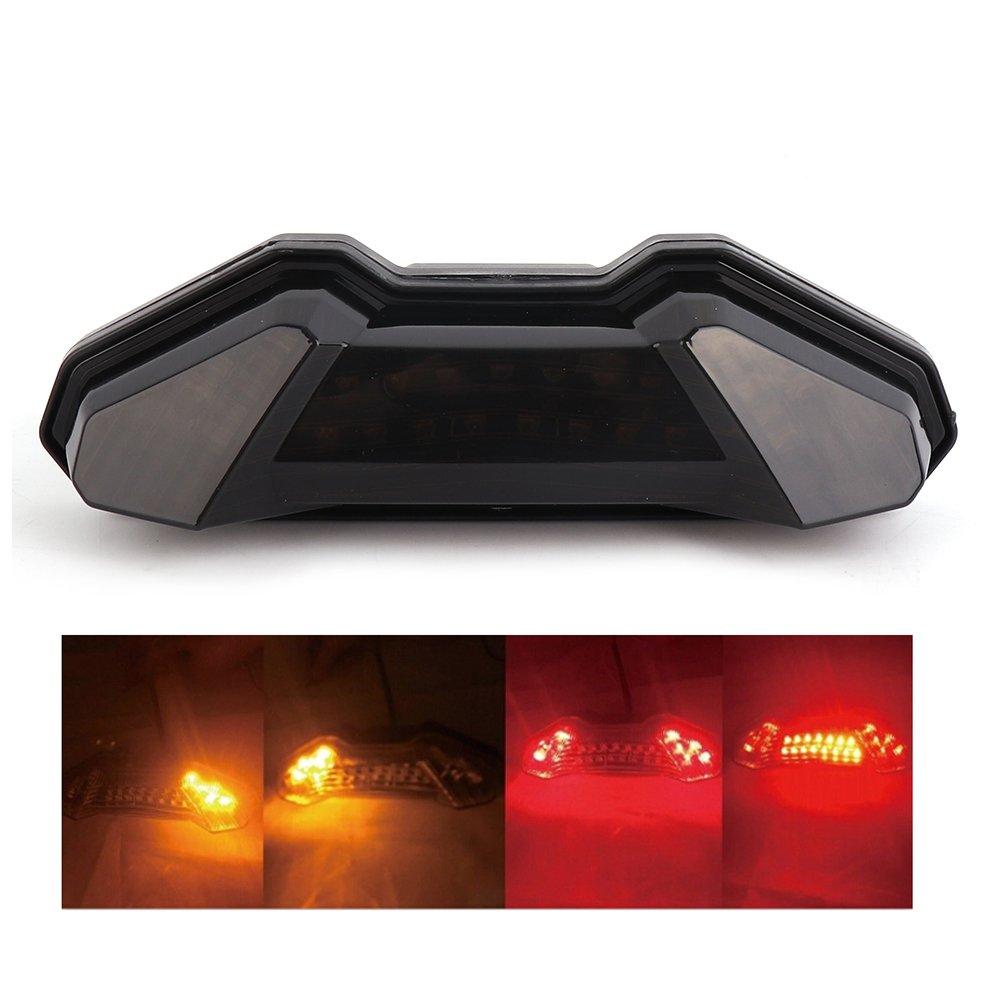 fz09 Integrated Tail Light LED Turn Signal Blinker Taillight for Yamaha FZ-09 2014 2015 2016, FJ 09 2015 2016 Issyzone