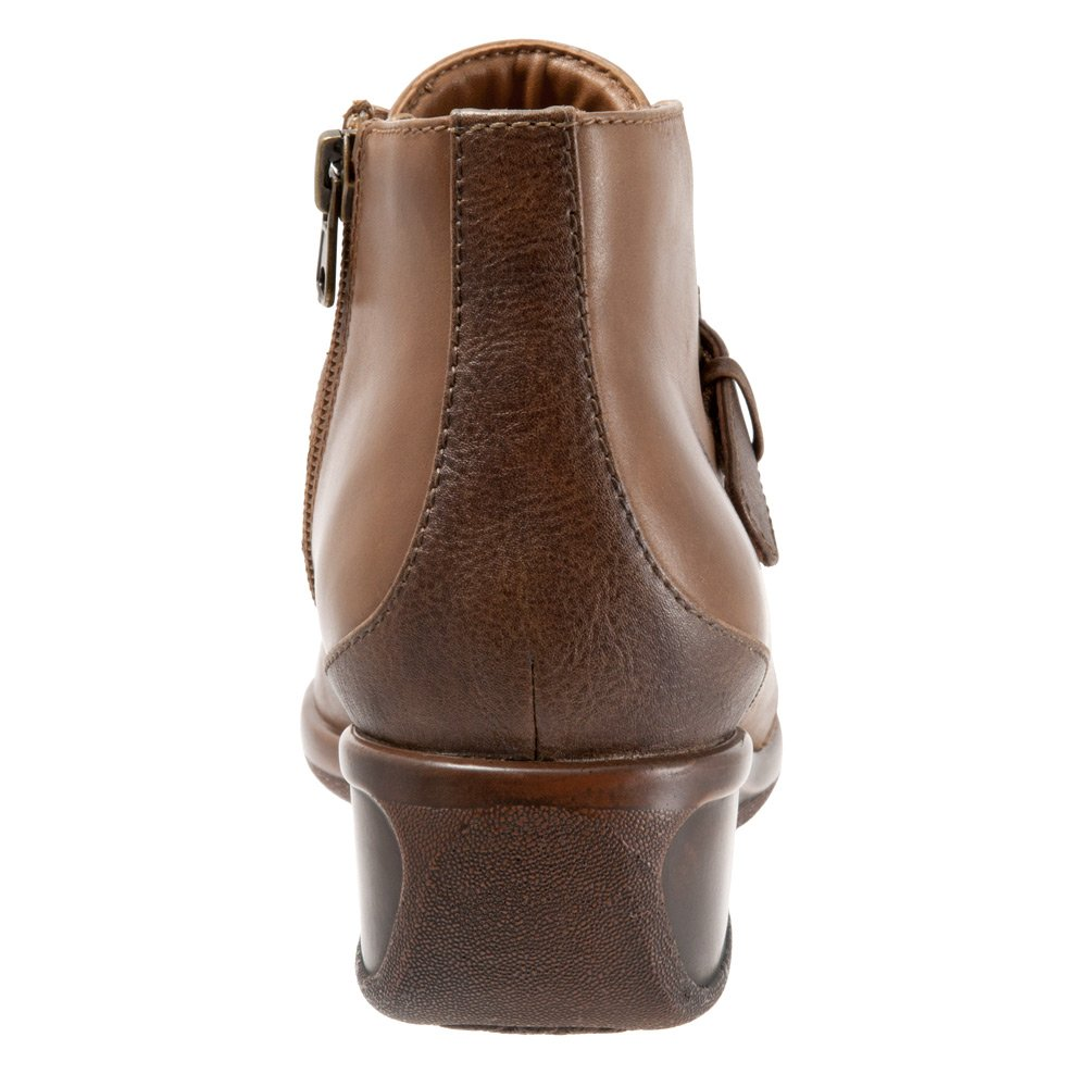 Trotters Women's Mindy Ankle Bootie B019QUAT1O 7 N US|Cognac Tumbled Leather