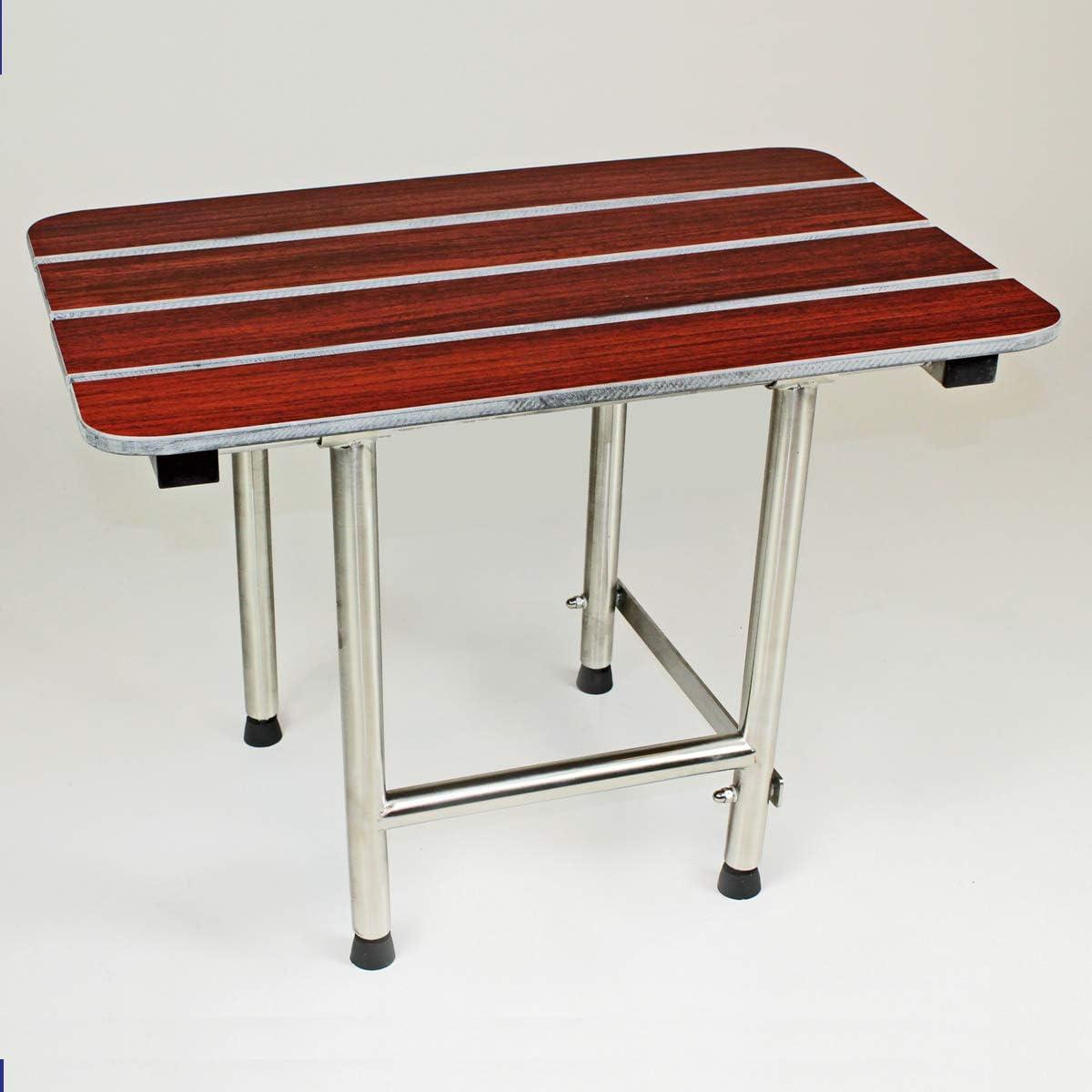 B00CY7HN2K CSI Bathware SEA-SD2216-NH-PW ADA Bathroom Shower Bath Seat, Folding, Wall-Mounted, Rectangular, Phenolic Wood Seat, 22-Inch by 16-Inch 71Sffb2B2BxPL.SL1200_
